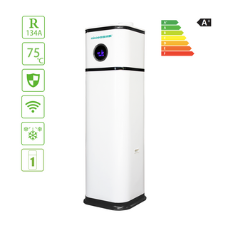 Durable High COP Heat Pump Water Heater with 200L Water Tank