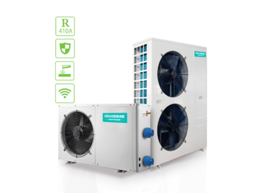 How does the swimming pool heat pump work?