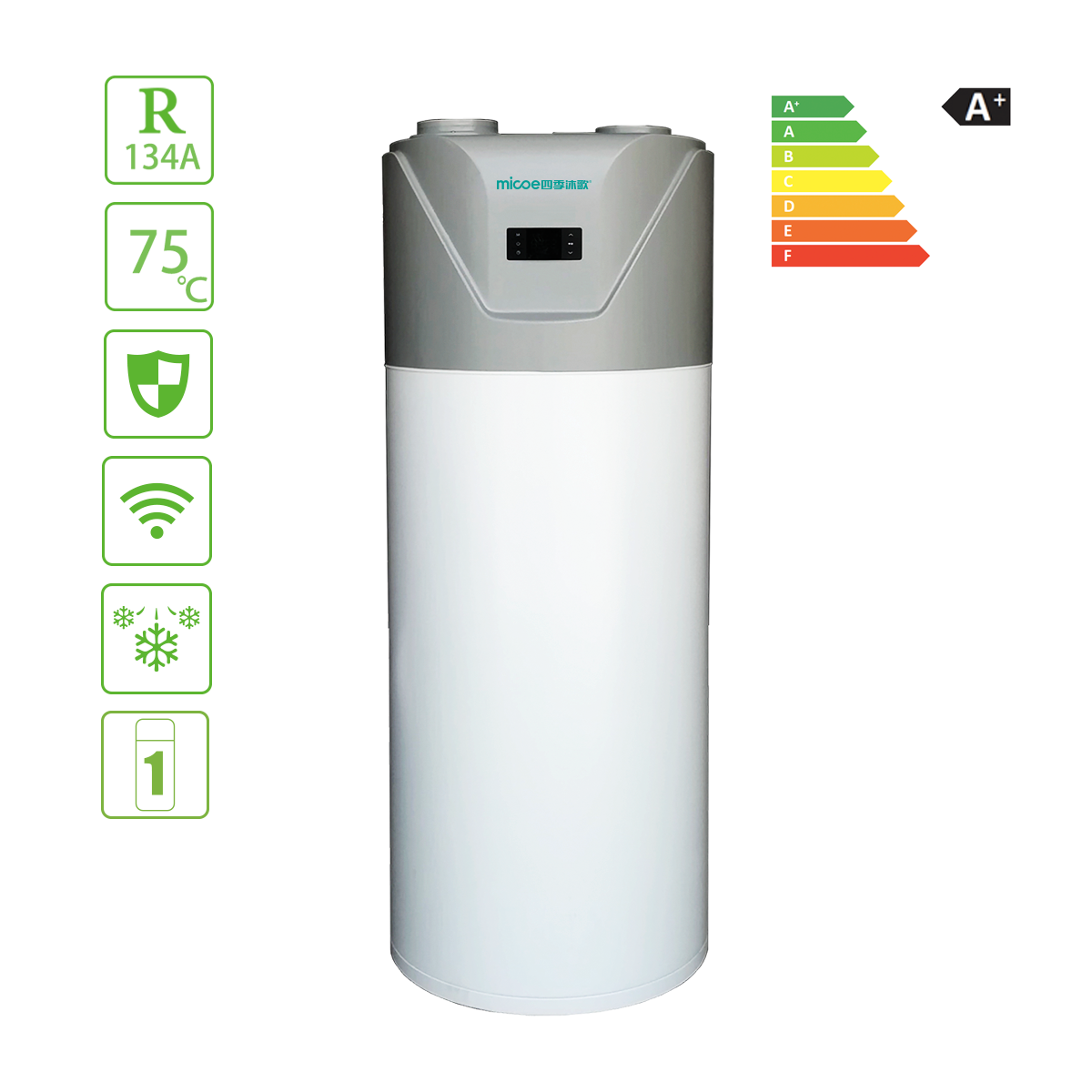 Water Heaters Domestic Hot Water Series Heat Pump